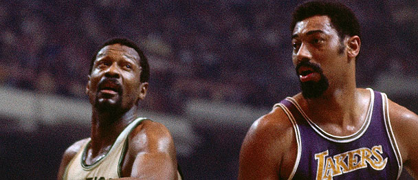 Bill Russell y Wilt Chamberlain dos amigos dentro y fuera de las pistas. Fuente: NBA.com