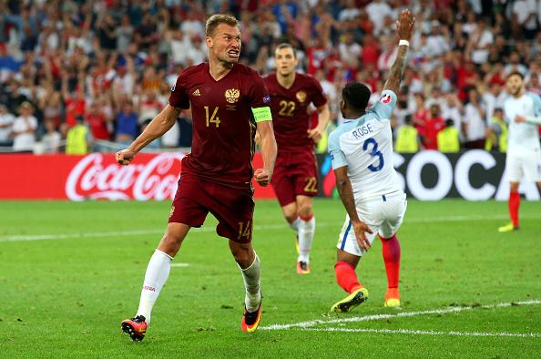 Rússia chegou ao empate já nos minutos finais do confronto (Foto: Alex Livesey/Getty Images)