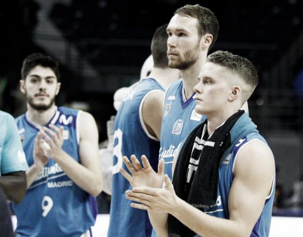 Hakanson, Brown y Vicedo | Foto: ACB