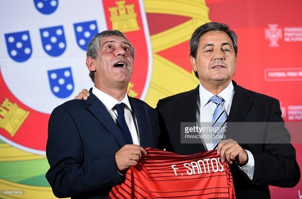 O presidente portista considera que Fernando Santos foi uma boa escolha. (Fonte: Getty Images)
