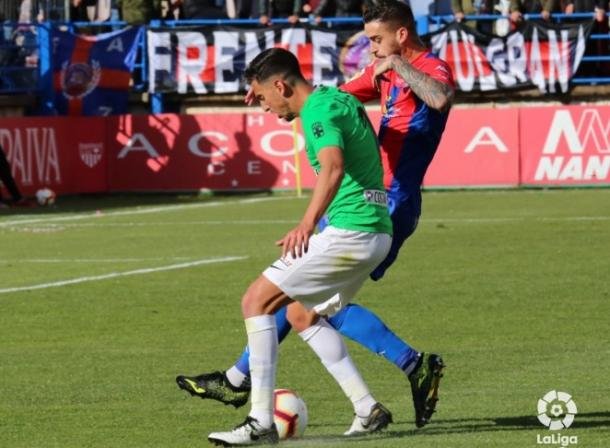 Una de las jugadas del partido | Fuente: La Liga