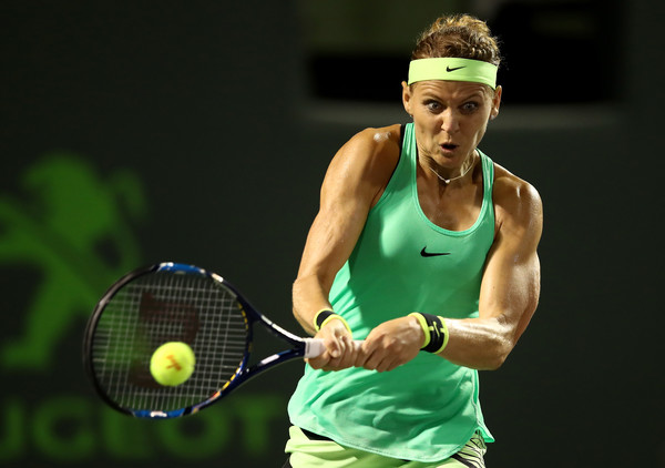The Czech's run to the quarterfinals in Miami was a good result for Safarova, who had been struggling at the big events (Photo by Julian Finney / Getty)