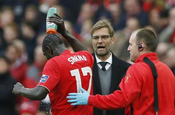 Sakho and Klopp's relationship has gone downhill (photo: Getty)