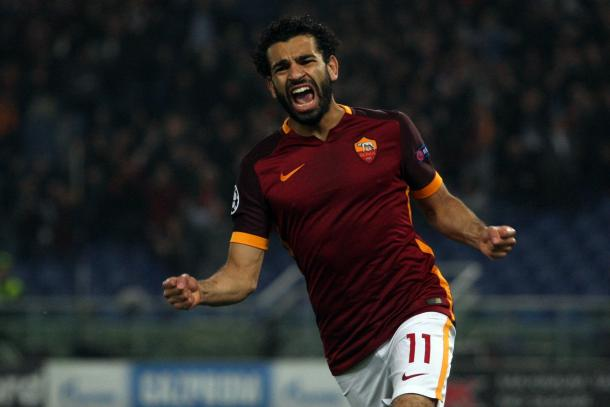 Mohamed Salah en la Roma | Foto: AS Roma