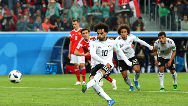 Salah anotó el gol de la honra | Foto: Getty Images