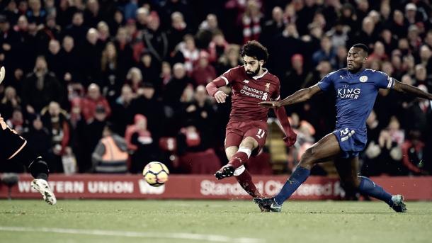 Salah es la gran figura del Liverpool | Foto: Premier League