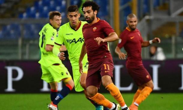 Salah, protagonista dell'ultimo successo giallorosso. Fonte foto: calciomercato.com