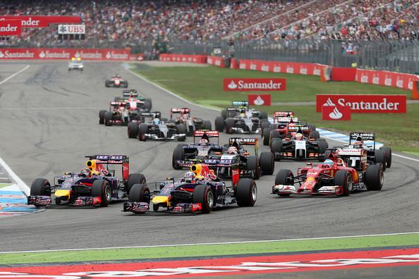 Salida del penúltimo GP de Alemania en 2014 | Imagen: Getty Images