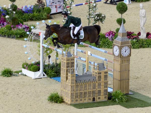 Competición de saltos en Juego Olímpicos de Londres. Foto: www.london2012.com