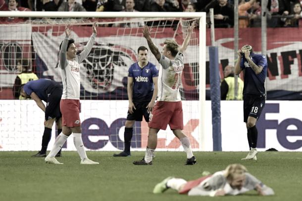 La Lazio eliminada en la Europa League tras perder 4-1   Foto:SS Lazio