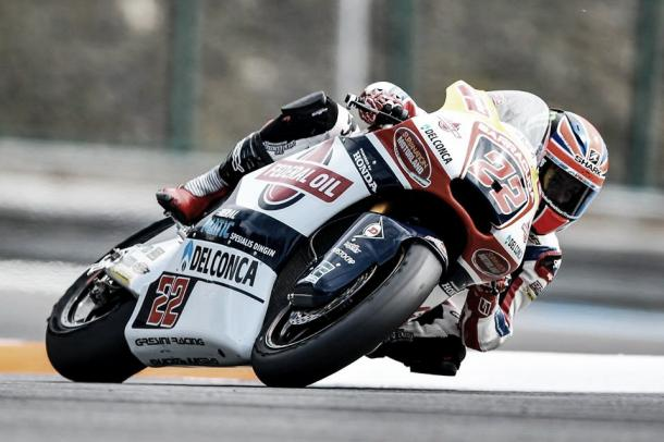 Lowes rode a steady race to take third place | Photo: Facebook Gresini Racing