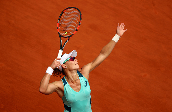 Stosur during the match. Photo: Clive Brunskill/Getty Images