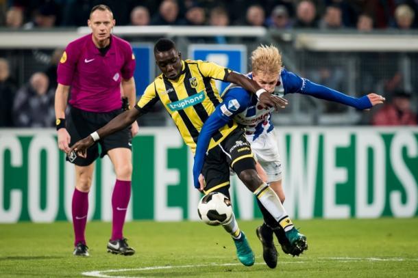 Heerenveen 1-1 Vitesse. Foto: Heerenveen