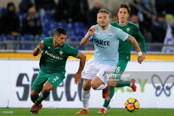 Ciro Immobile es el baluarte ofensivo de esta Lazio / Foto: gettyimages