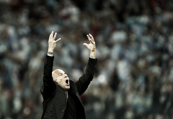 Sampaoli foi o grande responsabilizado pela derrota da Argentina. Foto: Adam Pretty/FIFA/Getty Images