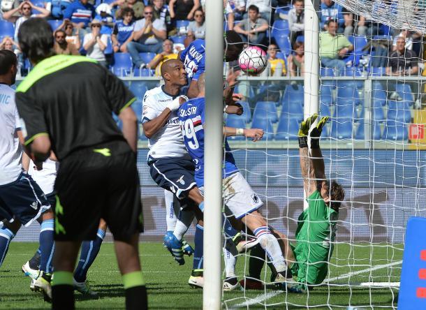 Sampdoria Lazio 2-1, blitzquotidiano.it