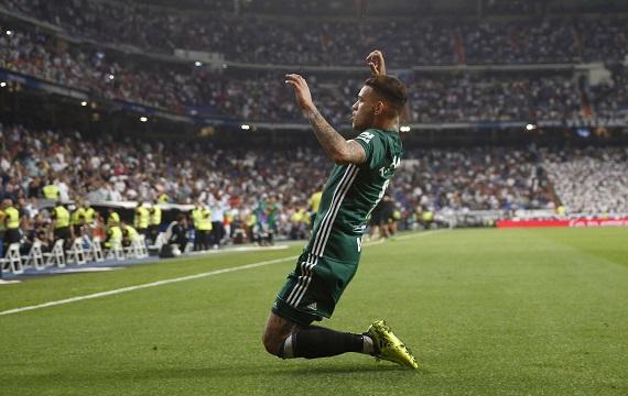 El héroe del Bernabéu. Foto: LaLiga