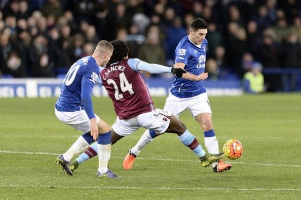 Sanchez impressed Garde against Everton (photo: getty)