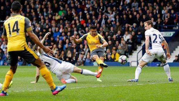 Il pareggio ad opera di Sanchez, www.premierleague.com