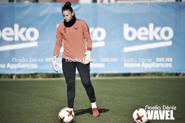 Sandra Paños, guardameta del FC Barcelona | Foto: Noelia Déniz - VAVEL