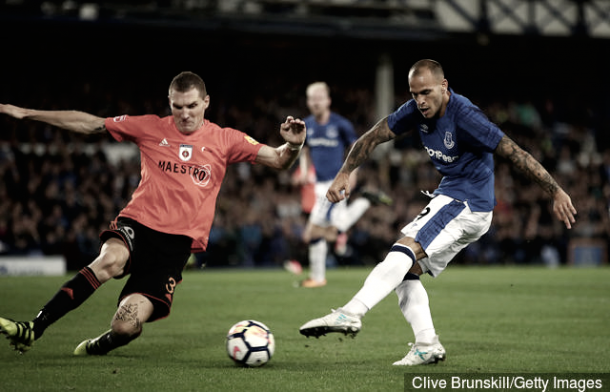 Sandro es la gran esperanza ofensiva del Everton.