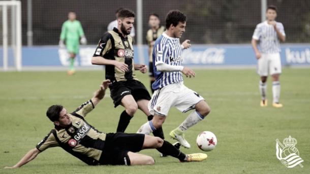 Real Sociedad - Barakaldo (fuente Real Sociedad B)