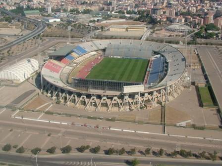 Estadio de Sant'Elia. | Foto: www.sardiniapost.it
