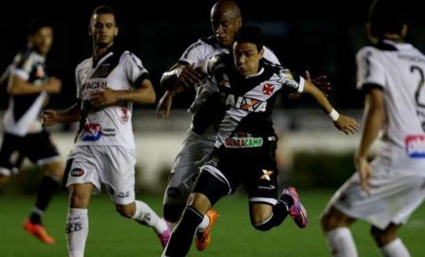 Santiago Montoya jugando en Vasco Da Gama de Brasil, donde estuvo cuatro temporadas. | Foto: GloboEsporte
