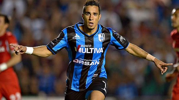 Camilo Sanvezzo, máximo goleador histórico del club con 67 dianas / Foto: Club Querétaro