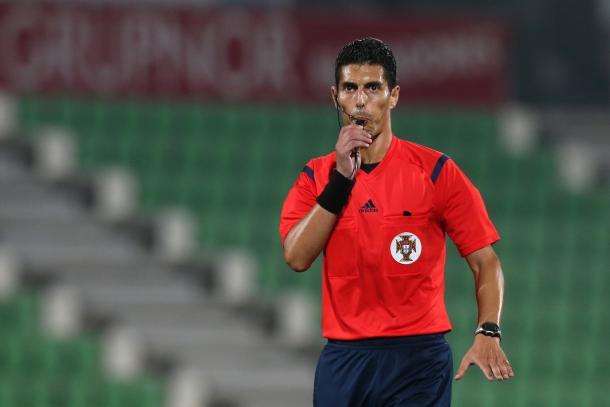 Luis Ferreira será o juiz da partida esta noite (Foto: Sapo.pt)
