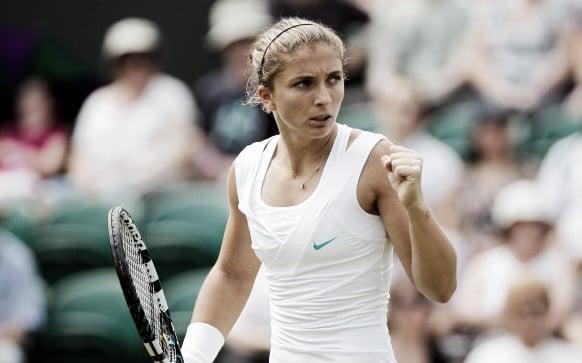 Sara Errani during Wimbledon 2012. Photo:Getty Images