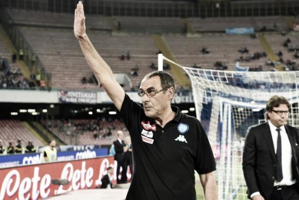 Maurizio Sarri.   Foto: SSC Napoli