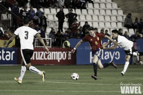Saúl en un partido con la Selección l Foto: @saulniguez
