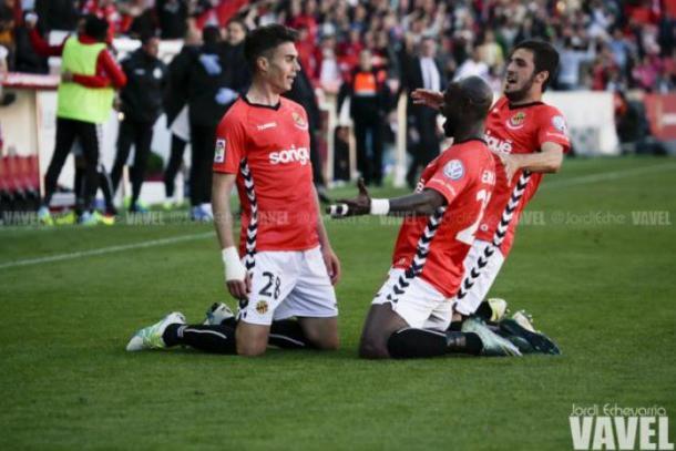 El Nàstic ganó su último partido en casa por 3-2 contra el Mirandés | Foto: Jordi Echevarria | VAVEL