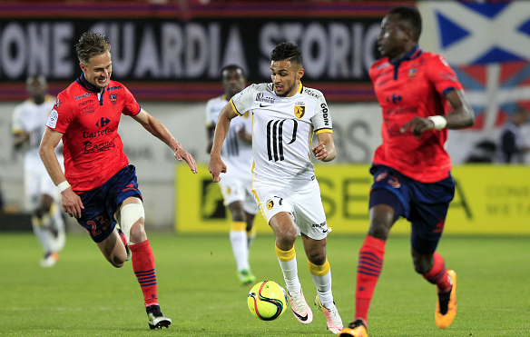Younger talent: Boufal - heavily linked with a move to either Arsenal or Chelsea, was one of Ligue 1's best players last term. | Photo: Getty