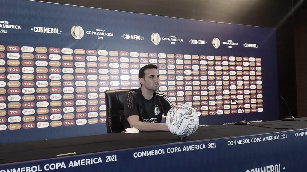 Scaloni sueña con llevar a Argentina a la gloria | Foto: Argentina