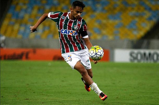 Gustavo Scarpa, o camisa 10 tricolor (Foto: Nelson Perez/Fluminense F.C.)