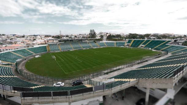 Fase conturbada do Figueira afasta torcida do Scarpelli (Foto: Divulgação/Figueirense)