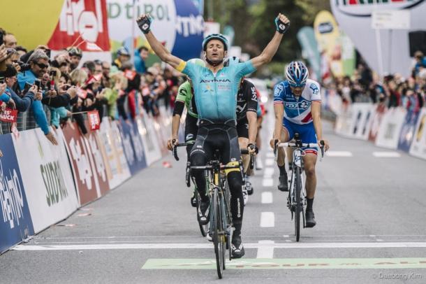 El italiano ganó esta misma carrera en el año 2011| Fuente: Tour of the Alps