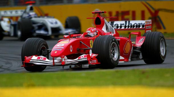 Michael Schumacher en el Gran Premio de Australia 2004 | Fuente: F1