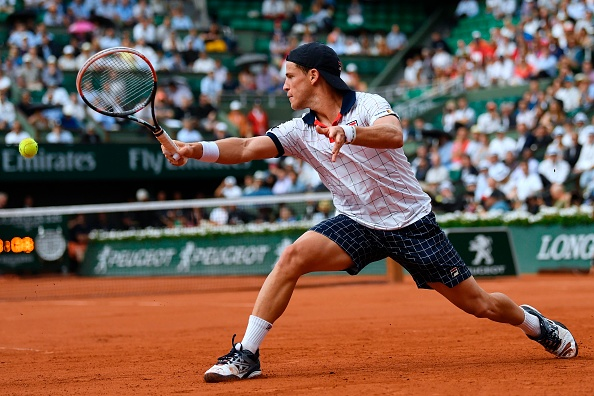 Schwartzman also pulled off the upset but played a good level of tennis (Photo by Christophe Simon / Getty)