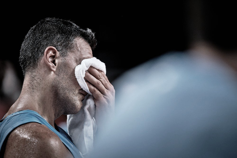 Scola no pudo contener las lagrimas en su retiro   Foto: FIBA