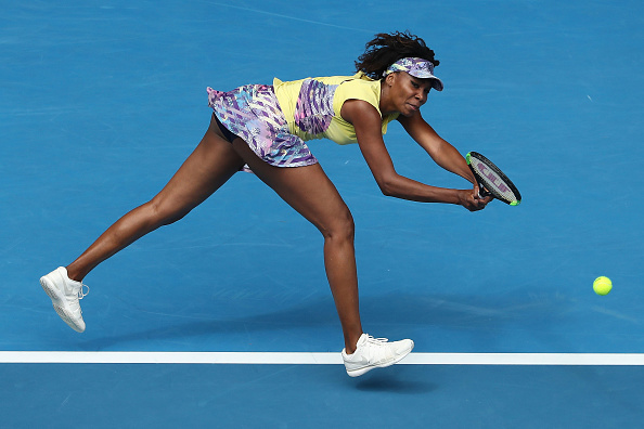Williams played some scintallating tennis against Voegele (Photo by Michael Dodge / Getty Images)