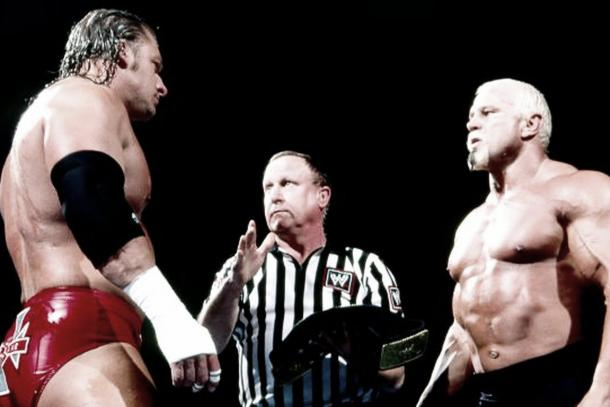 Scott Steiner described Triple H as the Kevin Federline of wrestling (image:cagesideseats,com)