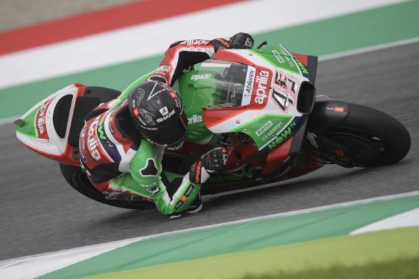 Scott Redding durante el Gran Premio de Italia. | FOTO: Aprilia Racing Team Gresini