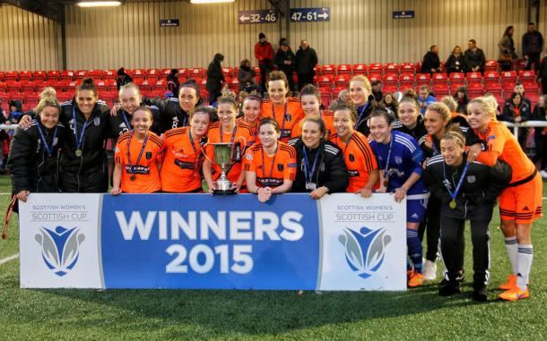 Glasgow City are the holders. (Photo: Tommy Hughes)