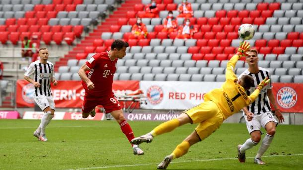 Robert Lewandowski suma 33 goles | Foto: fcbayern.com