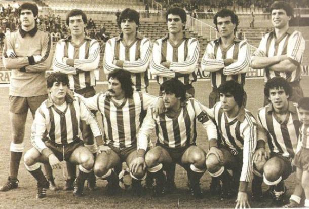 Equipo del Deportivo Alavés. Fuente: glorioso.net