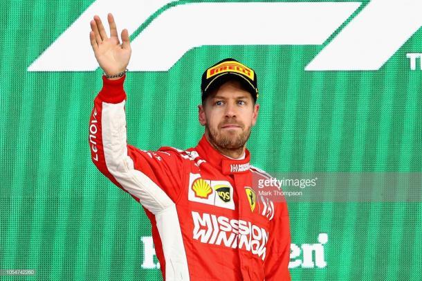 Sebastian Vettel. Foto: Getty Images.