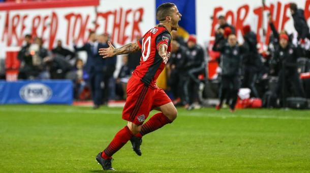 Toronto FC beat RBNY at soccer, royal rumble to reach East finals